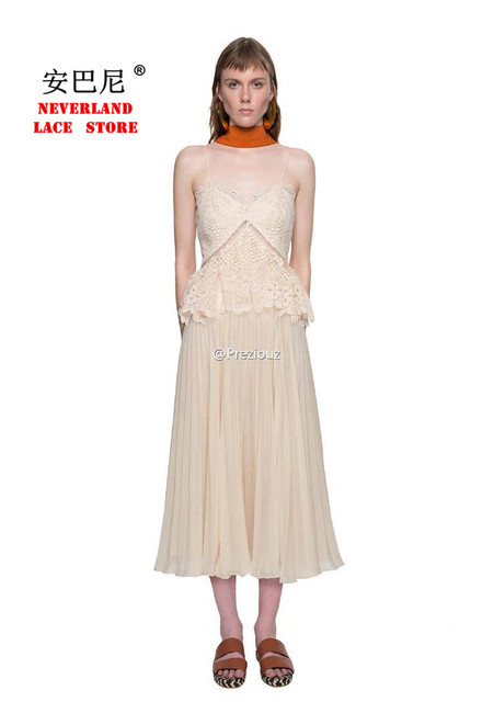8058192a self portrait dress summer deep-V robe femme paillettes sexy crochet lace sequin  spaghetti strap split Baroque backless dress#27