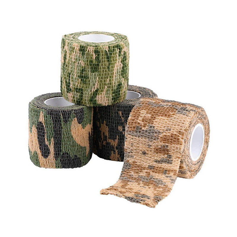 Adhesive Bandage Athletic Tape 5CM X 4.5M Camouflage Camo Sports Elastoplast For Woodland Hunting Wrists Fingers Knees Ankle