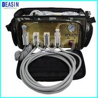 Мини хорошее качество удобно Портативный стоматологическая установка с воздушный компрессор всасывания Системы 3 шприц