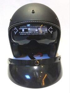 Image 3 - Hot Sale Wanli Brand Casque Moto Capacete Motorcycle Helmet Vintage Helmet High Quality 3/4 Open Face Scooter Helmets Dot