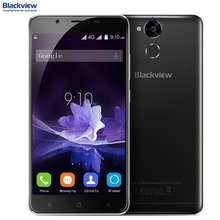 Blackview P2 Оперативная память 4 ГБ + Встроенная память 64 ГБ 6000 мАч Батарея идентификации отпечатков пальцев 5.5 дюймов Android 6.0 MTK6750T Octa core до 1.5 ГГц 4 г