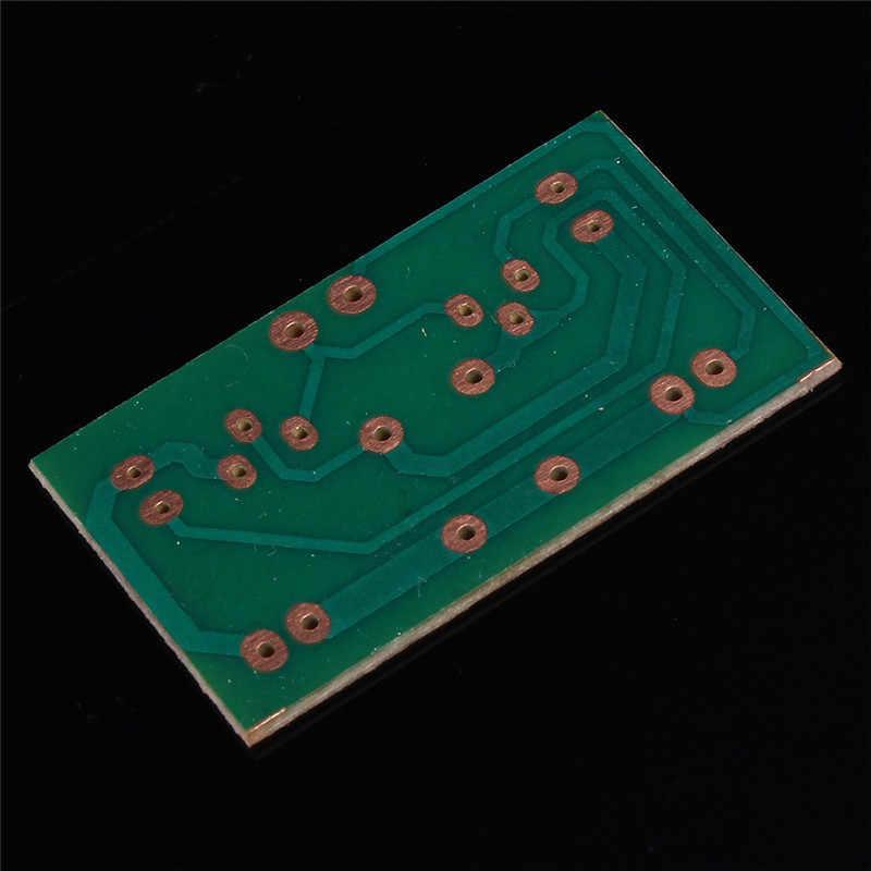DIY Elektronik Kit Flash Elektronik Devreler Multivibrator LED Berkedip Sirkuit Dalam Pengajaran Pelatihan IC Bagian
