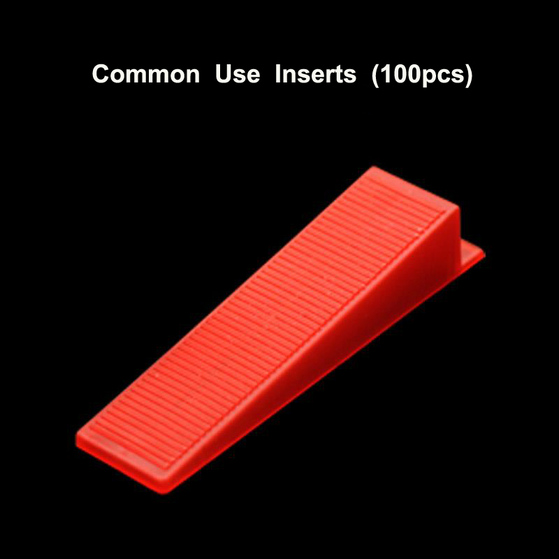 100Pcs Per Lot Tile Leveler Accessories Red Wedge Resuable Tile Leveling