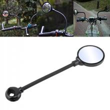 Flexible Adjustable Bike Rear Mirrors Convex Bicycle Rearview Suitable for Mountain Road Aluminum Handlebar