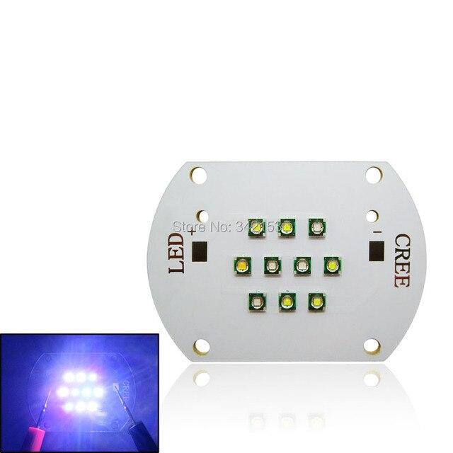 30W Cree DIY Led Emitter Lamp Light 1PCS 3000K + 3PCS 6500K + 2PCS 8000K + 3PCS 450NM + 1PCS 470NM Aquarium Fish Tank Lamp Light