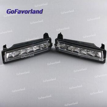 Пара передний левый правый светодиодный дневный ходовой светильник DRL 1649060251 для Mercedes W164 X164 X204 ML350 ML450 GL450 2008-2013 GLK220