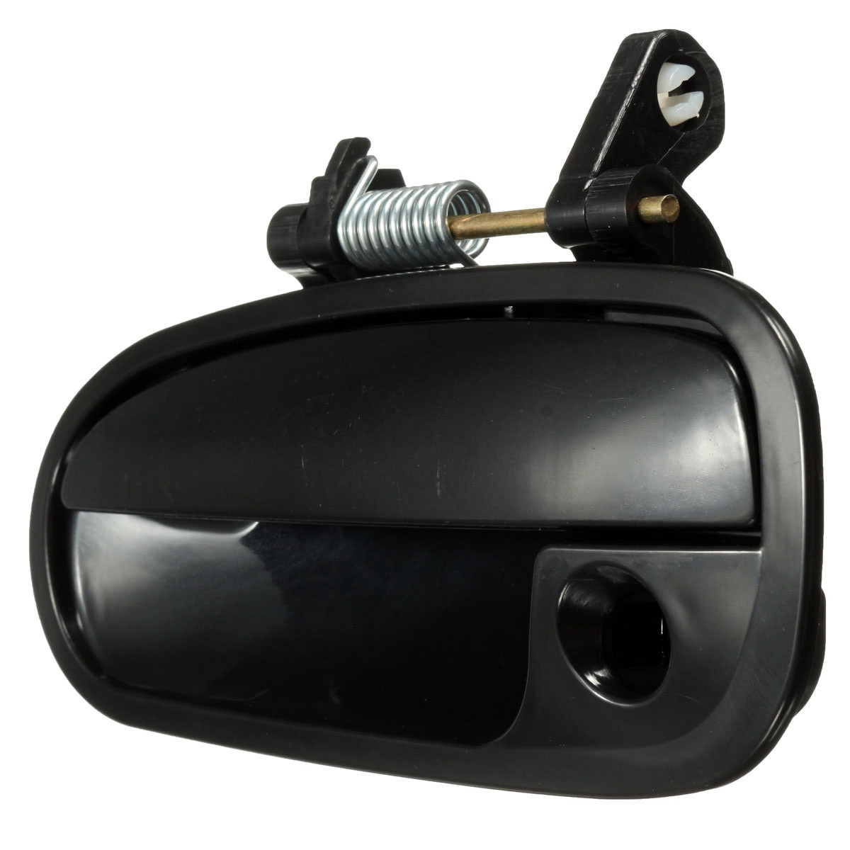 Black Outside Door Handle Rear Left Driver Side Exterior