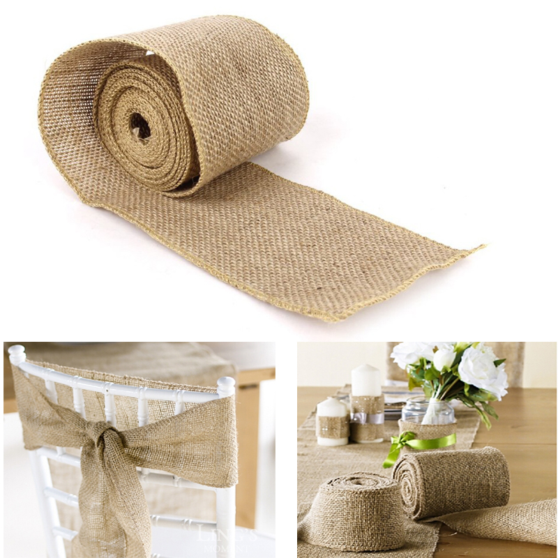 10cm 3m sisal wedding centerpieces decoration diy craft for Sisal decoration