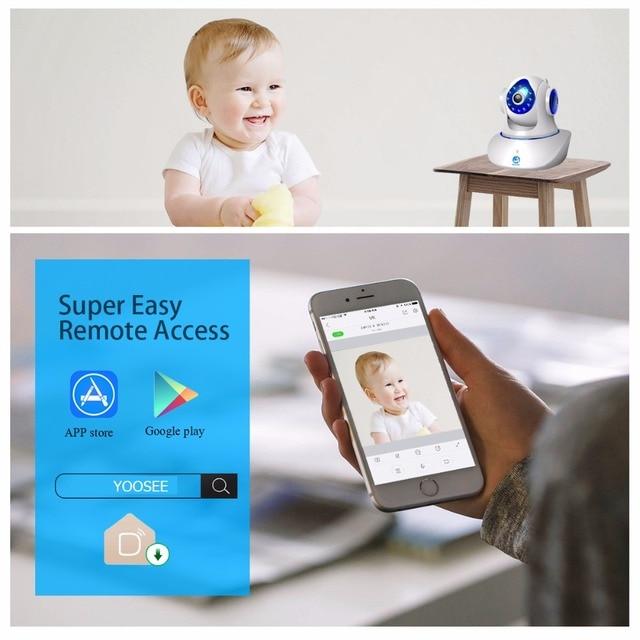JOOAN Wireless IP Camera 720P 1080P HD smart WiFi Home Security IRCut Vision 2