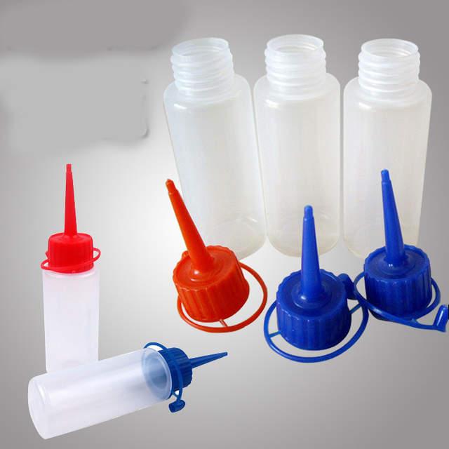 Online Shop 60 Ml Gaga Plastik şişe Damlalık şişesi Boş Boya Merhem