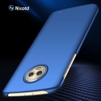 Para Motorola G6 plus G7 Power G5 G6 G5S Slim Premium Frosted plástico mate rígido PC Case para Motorola Moto X4 Z2 Z3 E5 G7 Play