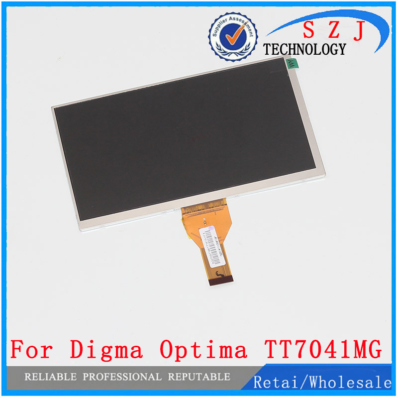 New 7'' inch LCD display matrix Digma Optima 7.41 3G TT7041MG Tablet inner LCD Screen Panel Module Replacement Free Shipping new lcd display matrix for 7 nexttab a3300 3g tablet inner lcd display 1024x600 screen panel frame free shipping