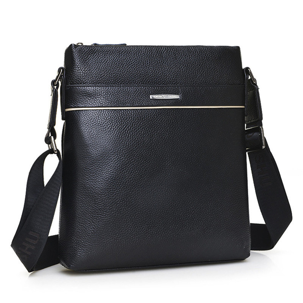 ФОТО 2017 New hot sale genuine leather men bag fashion men small messenger bag Business Computer Shoulder Bag male crossbody Bag