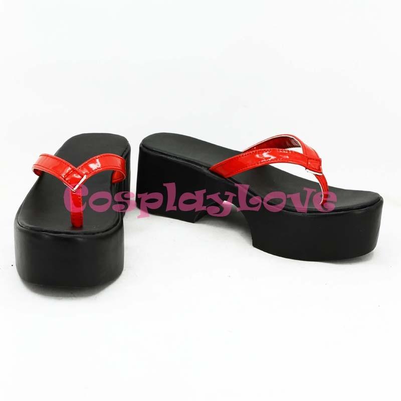 Custom Made Japanese Game Touken Ranbu Online Oodachi Jiroutachi Cosplay Boots Shoes Slipper For Halloween Christmas