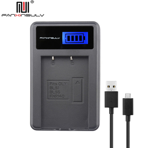 ЖК-зарядное устройство USB для PS-BLS5 BLS-5 BLS1 BLS50 батарея Olympus PEN EPL6 EPL2 EPL3 EPL5 EPL7 8 9 EPM2 EM10 II III Stylus1 S
