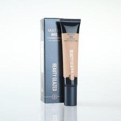 Beauty Glazed Liquid Foundation Invisible Full Coverage Make Up Concealer Whitening Moisturizer Waterproof Makeup Foundation