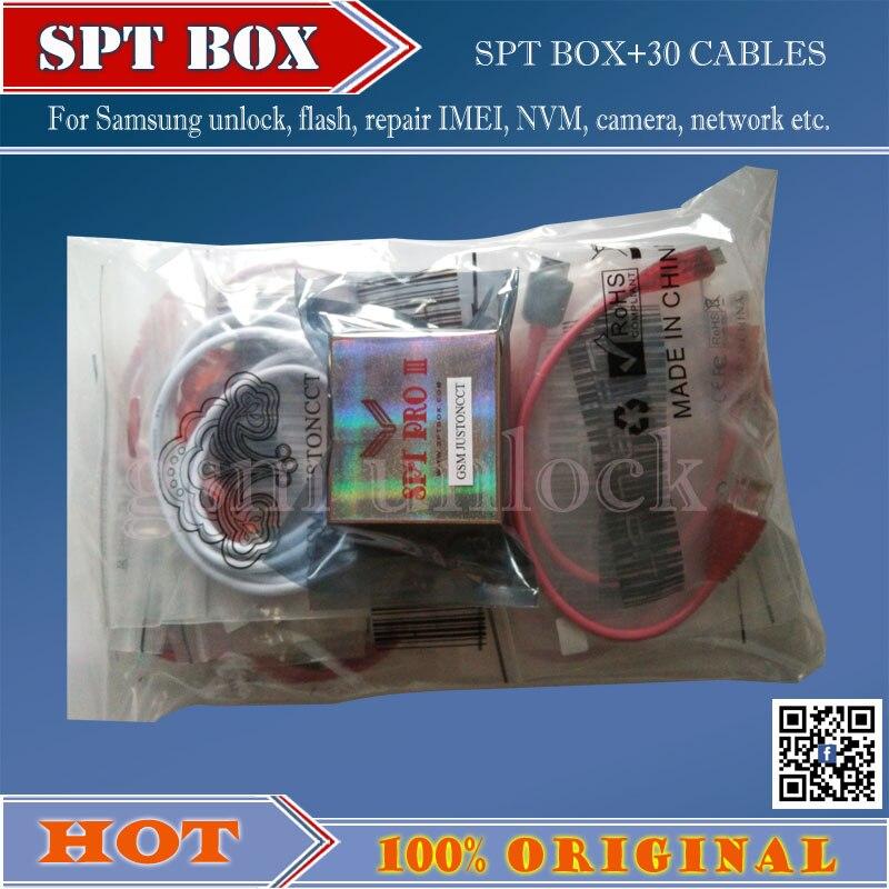 Gsmjustoncct SPT BOX Strumento Professionale per Samsung N7100, I9300, I9500 S5 Sbloccare, Flash, riparazione IMEI, camera, telecamera di Rete, trasporto LIBERO - 2