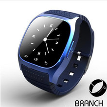 10pcs m26 Smart Bluetooth Watch Smartwatch M26 with LED Display Music Player Pedometer for Android IOS