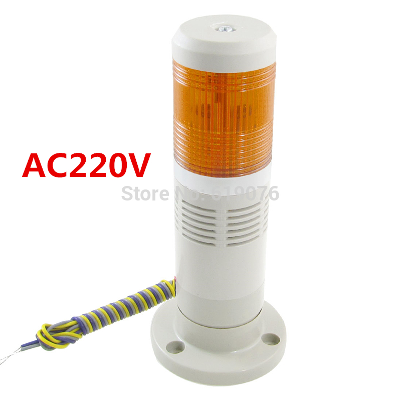 AC220V Industrial Yellow Signal Tower Light-in Industrial