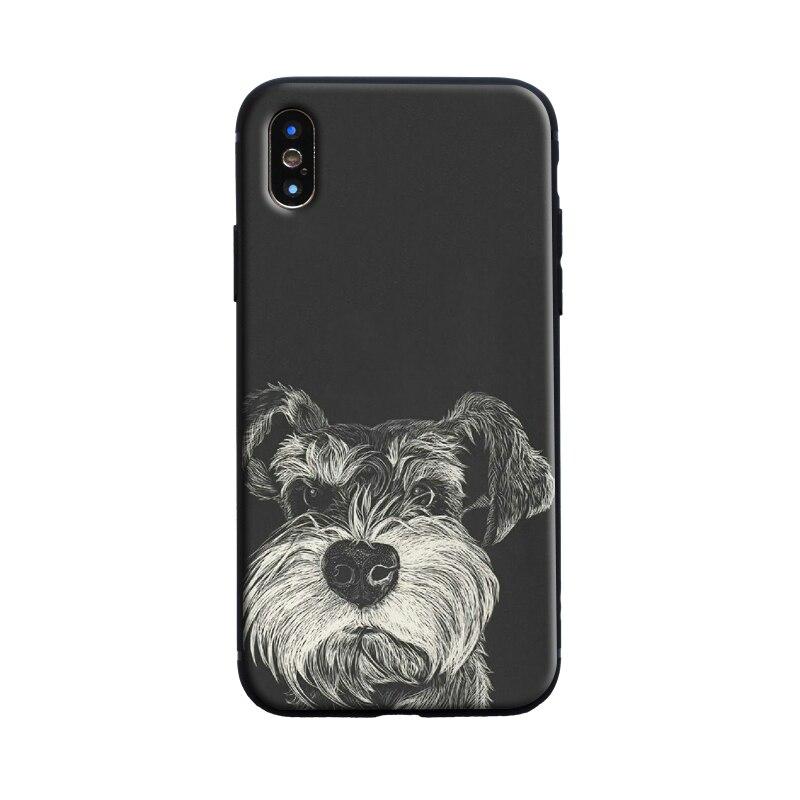 iphone 7 plus schnauzer case
