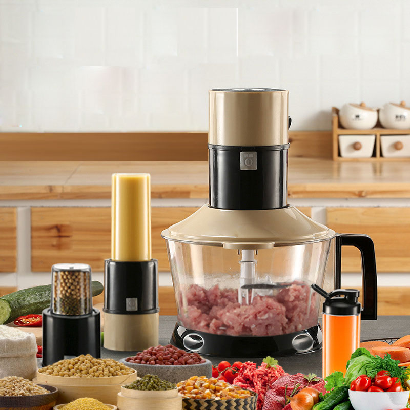 Five In One Meat Grinder High Low Speed Chopper 3L Electric Automatic Mincing Machine 450W  Electric Blender Household Juicer