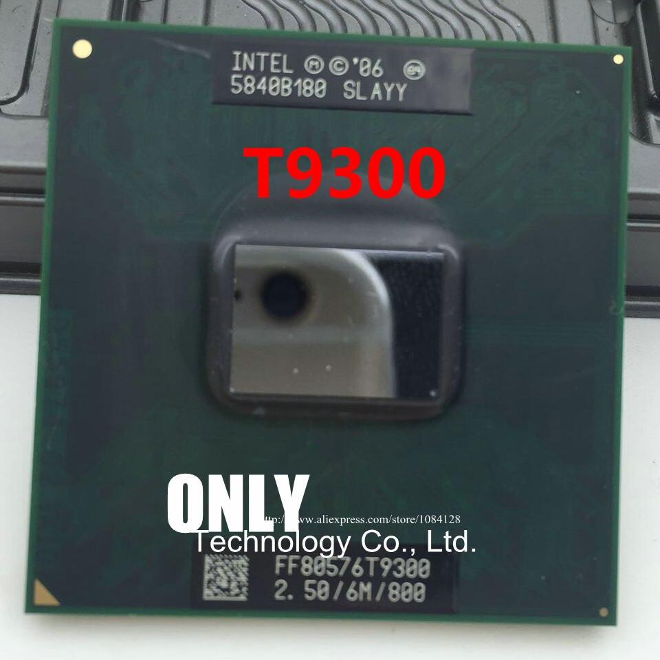 Free Shipping CPU laptop Core 2 Duo T9300 CPU 6M Cache/2.5GHz/800/Dual-Core Socket 479Laptop processor for GM45 PM45 1