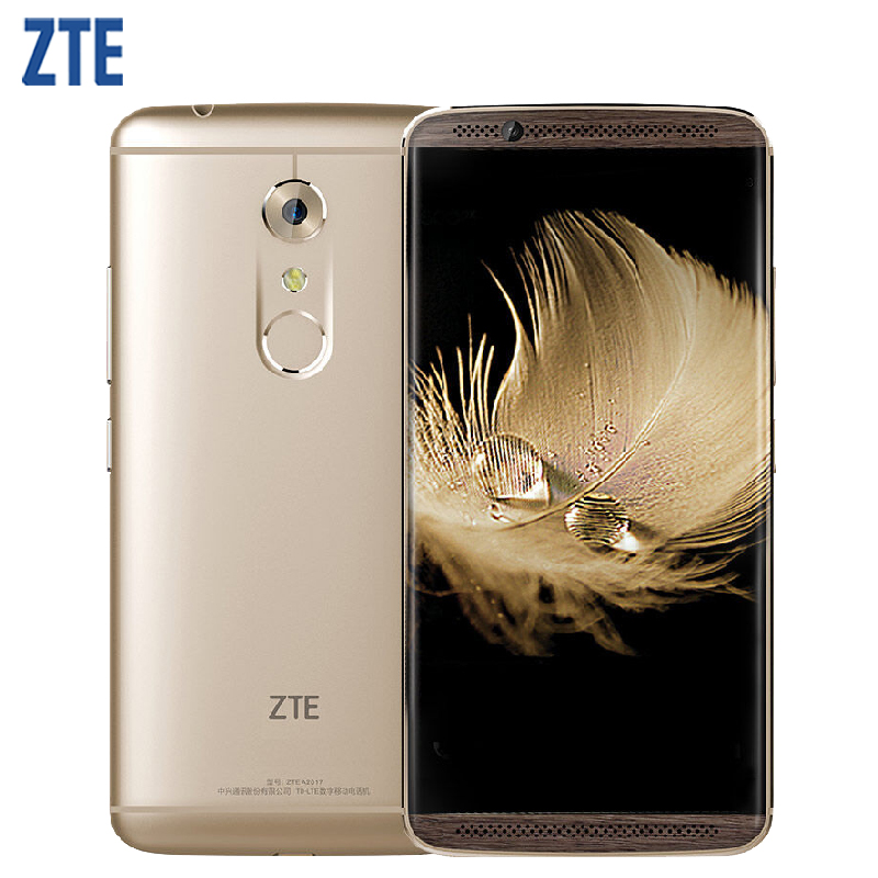 Original ZTE Axon 7 A2017 Cell Phone 6GB RAM 128GB ROM Snapdragon 820 MSM8996 Quad Core 5.5 inch 20.0MP Android 6.0 Smartphone