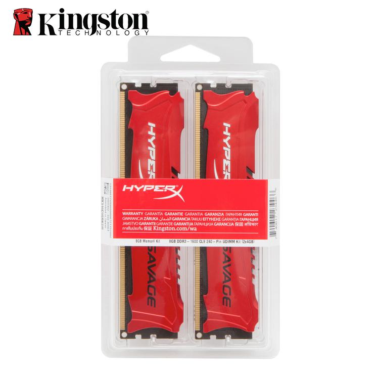 Prix pour Kingston hyperx savage ram ddr3 2400 mhz pc3 19200 bureau mémoire mise à niveau kit double canal 16 gb (8GBx2) 8 GB (4GBx2) puces de mémoire
