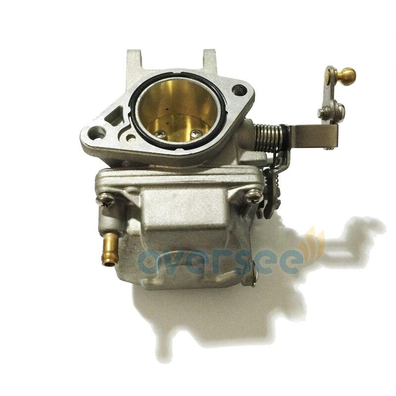 69P-14301-00 Carburetor For YAMAHA 25HP 30HP NEW Model Outboard Engine Boat Motor 69S-14301-00 61N 61T Engine Use 67h 43880 00 new tilt trim motor for yamaha 115 225 hp 1997 2002 outboard engine power motor 64e 43880