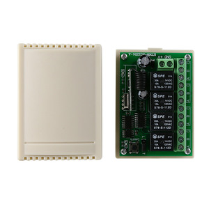 Image 5 - DC 12V 4 Gangs Relay Module 433MHz Receiver Wireless Remote Control Switch Motor Controller for Anti theft alarm with Jump Cap