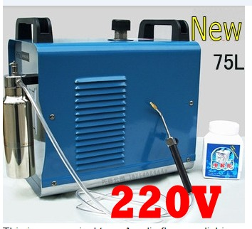 Hot Sale CE Passed 75L Water Acrylic Flame Polishing Machine 220V Polisher Welder Torch h160 75l acrylic flame polishing machine oxygen hydrogen polisher