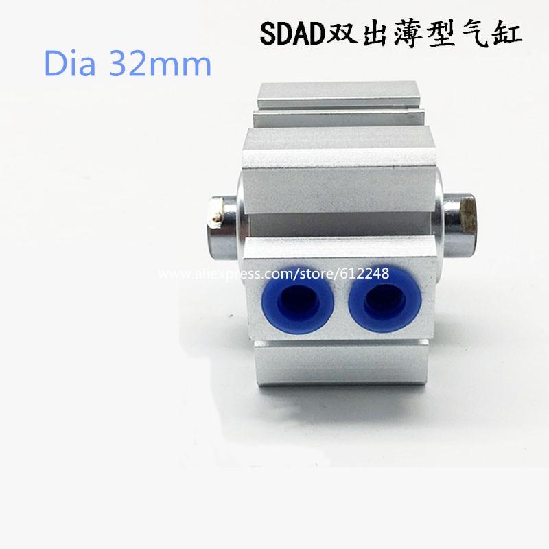 SDAD Pneumatic Air Thin Cylinder SDAD32-5 SDAD32-10 SDAD32-15 SDAD32-55 SDAD32-60 SDAD32-65 SDAD32-70 SDAD32-75 SDAD32-80SDAD Pneumatic Air Thin Cylinder SDAD32-5 SDAD32-10 SDAD32-15 SDAD32-55 SDAD32-60 SDAD32-65 SDAD32-70 SDAD32-75 SDAD32-80
