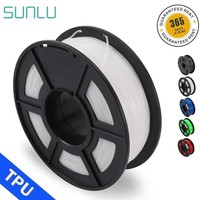 SUNLU TPU Flexible Filament For 3D Printer Filament 0.5KG/roll 1.75mm Flexible TPU Filament High Toughness Consumable