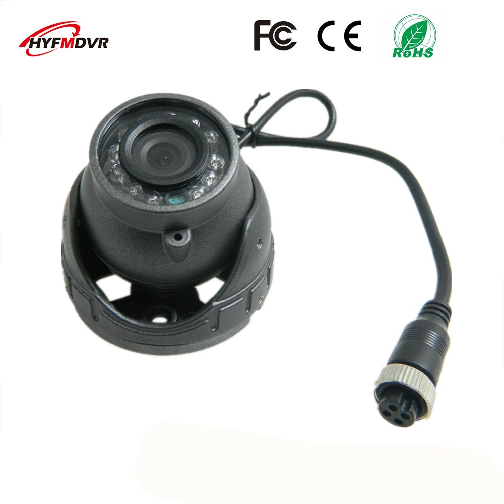 ahd1080p 720p 960p semi elliptical infrared night vision monitor head metal shell 12v wide voltage sony 600tvl taxi camera AHD1080P/720P fire engine camera 1.5 inch hemisphere infrared night vision monitor head metal case SONY CCD 600TVL