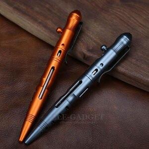 Image 3 - Портативная тактическая ручка для самообороны на открытом воздухе с болтовым переключателем, дизайнерский аварийный стеклянный выключатель, инструмент для повседневного использования, подарок, дропшиппинг