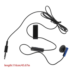 Image 4 - Gamepad Headset Mit Mikrofon Ohrhörer Für PS4 Controller Kopfhörer Ohrhörer