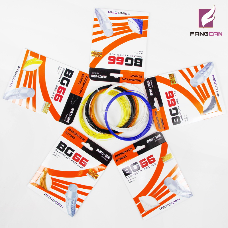 1 pc FANGCAN BG66 Raket Badminton Raket untuk Raket Badminton 0.66 mm Diameter 10m / pc