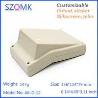 1 Piece Szomk Plastic Control Box LCD Plastic Enclosure Housing Desktop Instrument Housing For Electronics Device