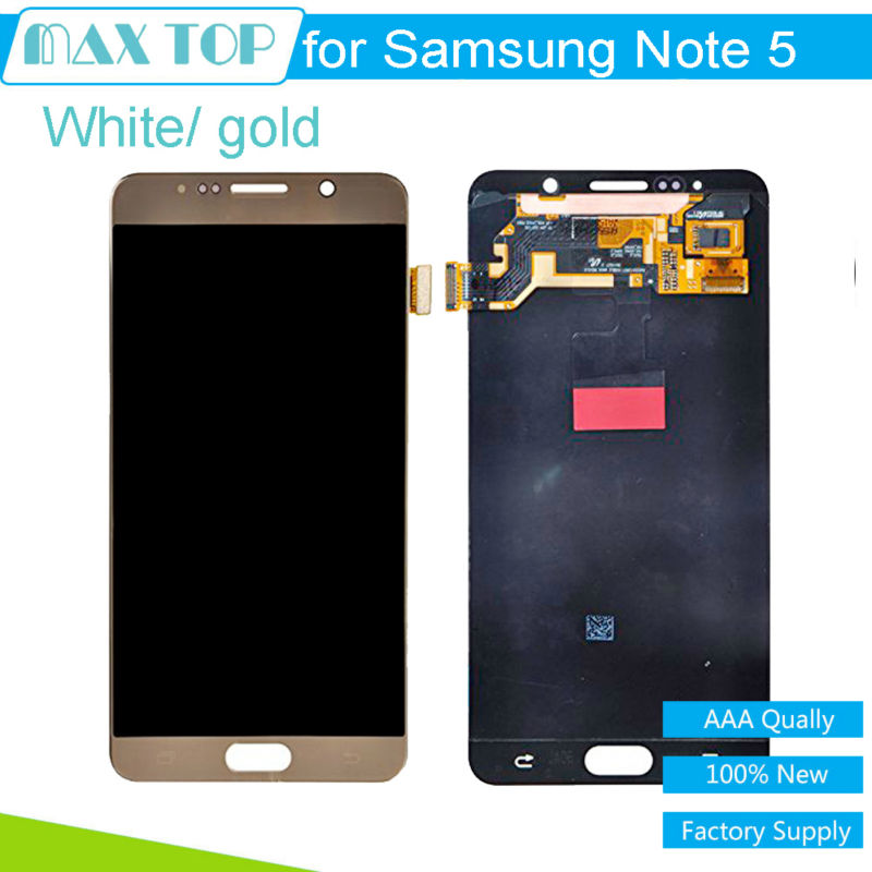 5.01920*1080For Samsung Galaxy Note 5 N9200 N920T N920A N920I N920G LCD Display Touch Digitizer Screen Assembly Free Shipping