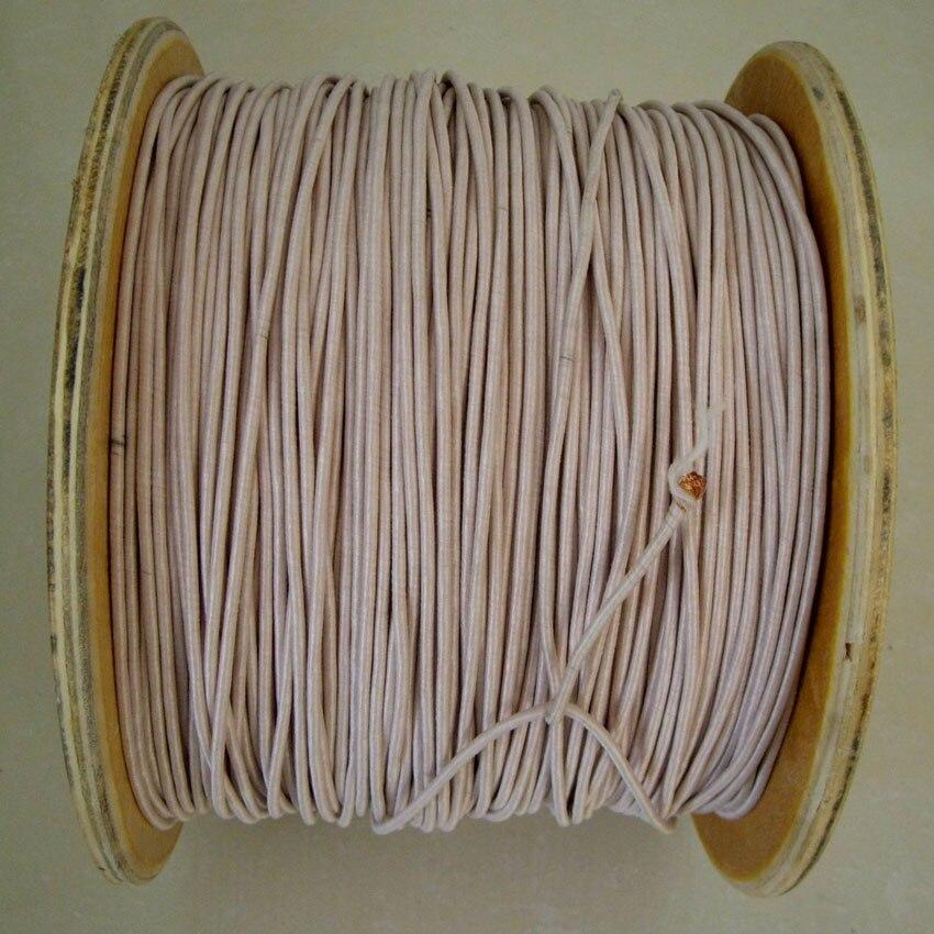 0,1x180 Aktien Von Bergbau Maschine Antenne Litz Draht Multi-strang Kupferdraht Polyester Filament Garn Umschlag 10 Meter Seien Sie Freundlich Im Gebrauch