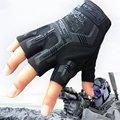 Супер техник half-finger перчатки сократить устойчивостью нескользящей открытый вс уплотнения тактические перчатки