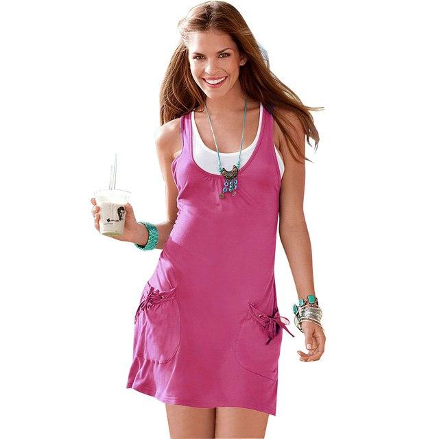 Tank Top Dress for Girls