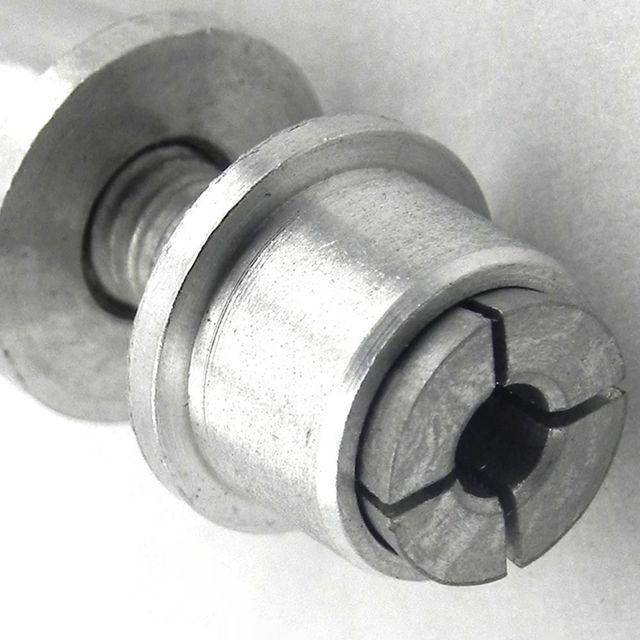 4 pcs RC Plane Airplane Spinner 3mm 3.0mm Shaft Motor Prop Propeller CW Adaptor Clip
