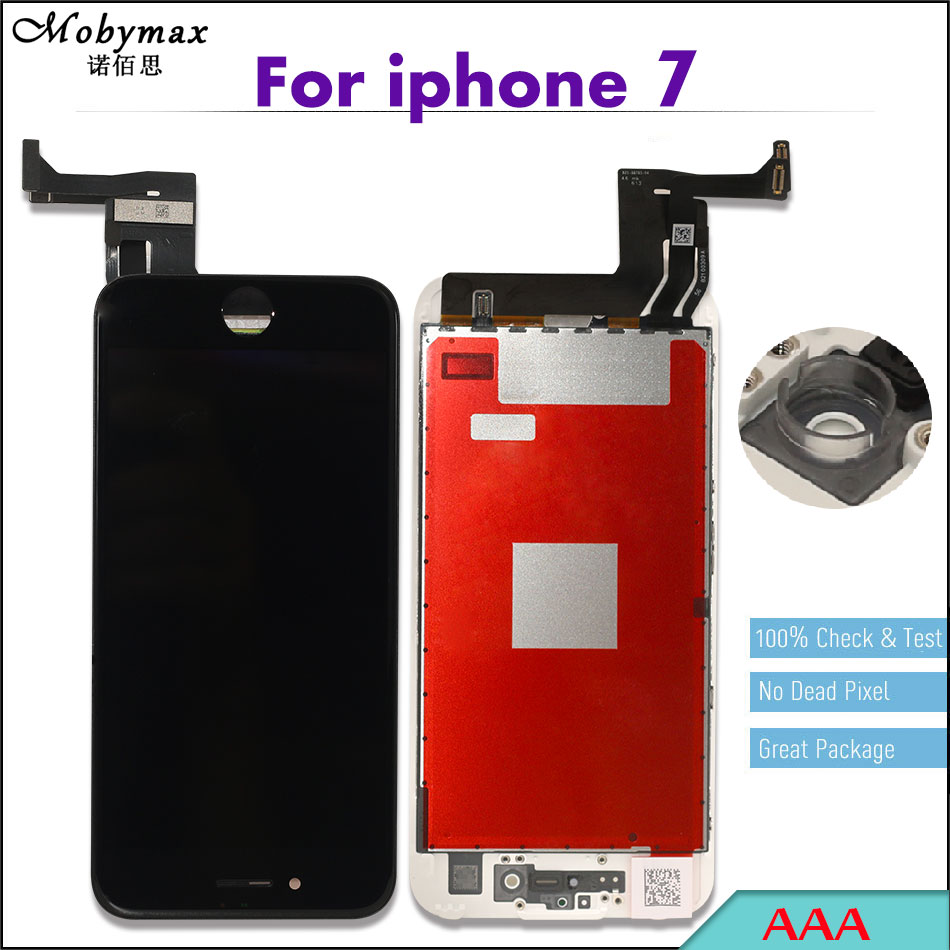 Promise All Test Work Perfect LCD Display For iPhone 7 7p Touch Screen Digitizer Assembly Replacement No Dead Pixel LCD 7 plus