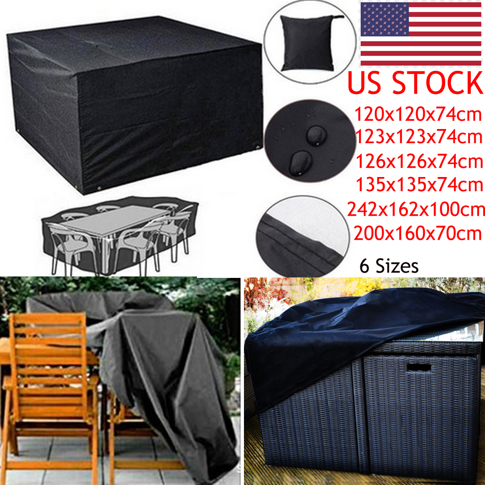 Heavy Duty Waterproof Rattan Cube