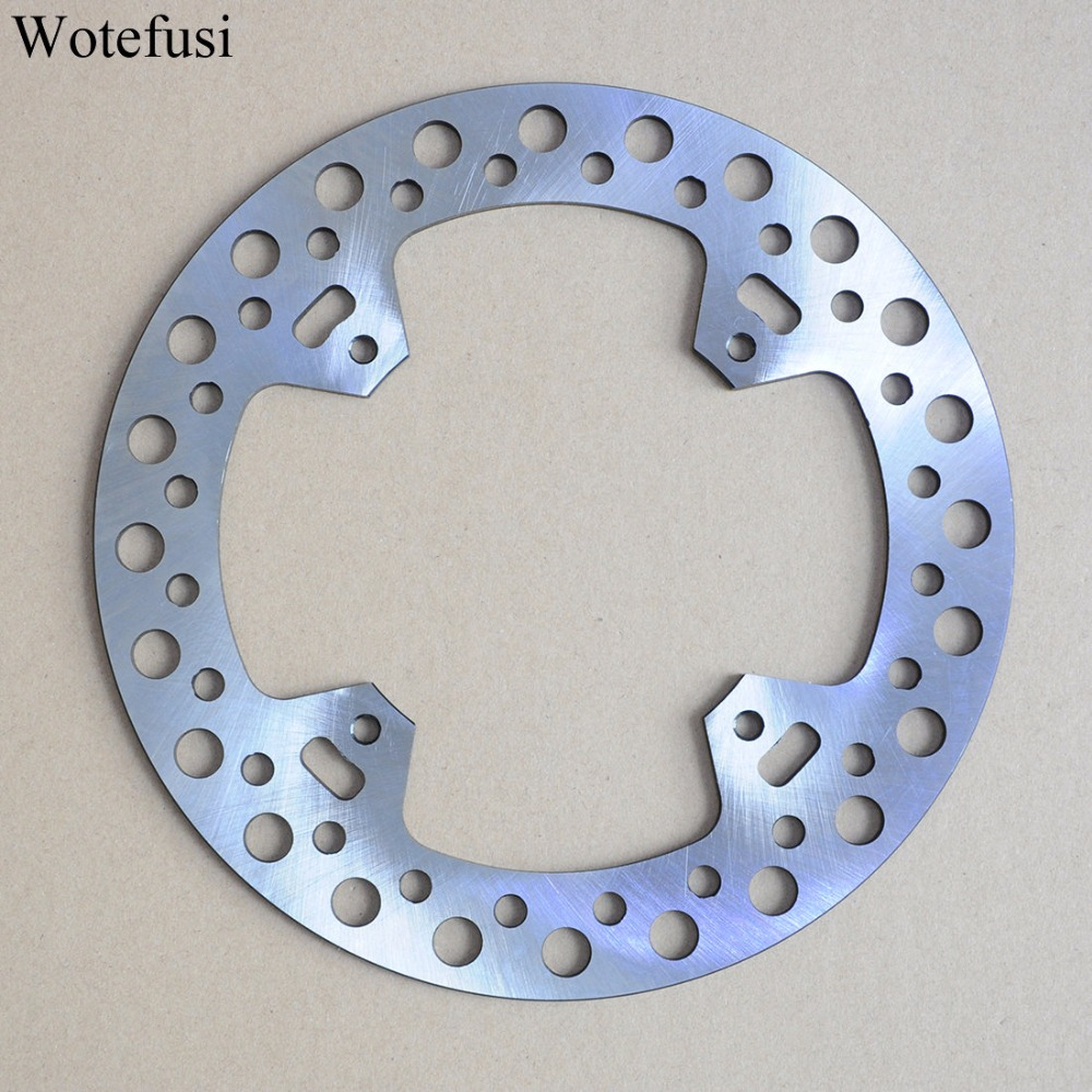 Wotefusi Motorcycle One Piece Rear Brake Rotor Disc For Honda CR125 CR250 CR450F SUPERMOTARD 2002-2003 CRF450R 2002-10 [PA410] one pair rear disc brake suit for kandi 250 kd 250 gka buggy