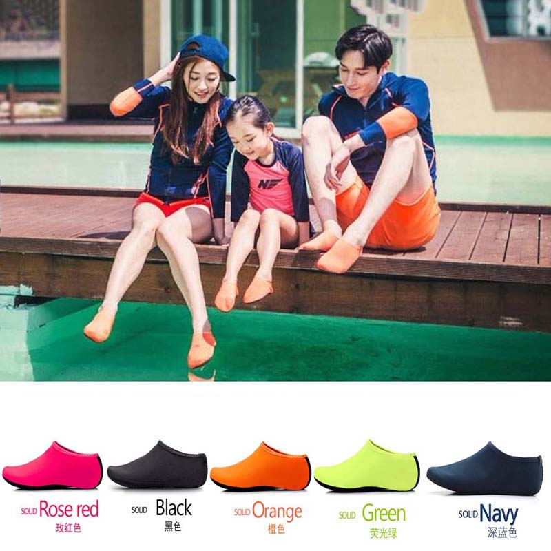 Summer Men Women Swimming Shoes For Water Aqua Shoes Flippers For Swimming Shoes Neoprene Socks Non-slip Aqua Beach Shoes