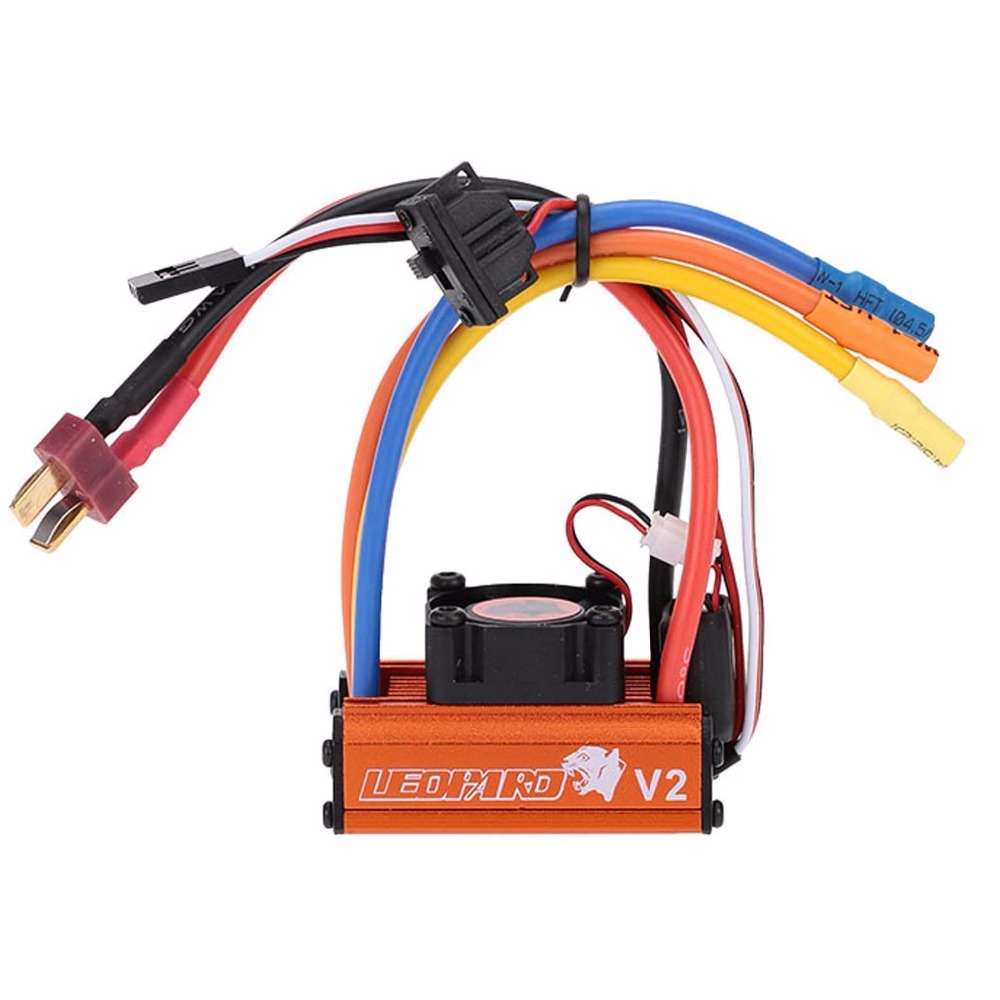 SKYRC LEOPARD 60A V2 ESC Brushless Speed Controller pour RC 1/10 Voiture Camion