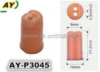 Livraison gratuite 500 pièces injecteur de Carburant pintle cap approprié pour Bosch injecteur INP065 BUSE (AY-P3045, 10*17.2mm)