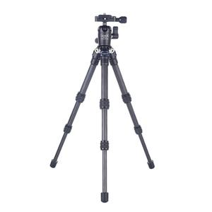Image 4 - AOKA CMP163C 496g max loading 3kgs lightweight table mobile DSLR carbon fiber mini tripod for camera phone